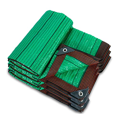 AWSAD Sonnenschutz Schatten Tuch, Grünes Schattennetz, Sonnenschutz Wärmedämmung, 95prozent Schattenrate, für Balkondach Im Freien, 20 Größen (Color : Green, Size : 2x2m)