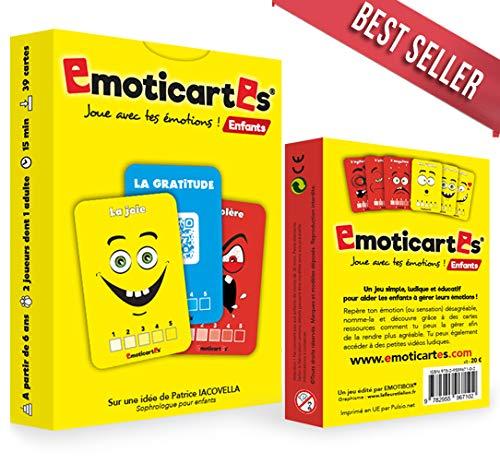 Emoticartes Enfants : Pour aider l'enfant à comprendre et à gérer ses émotions (nouvelle...