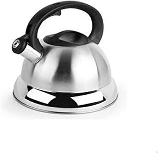 LJBH Kettle, Stainless Steel Kettle Teapot - Thick Composite Bottom 4L Large Capacity, Whistling My Fastest Boiling, Suita...
