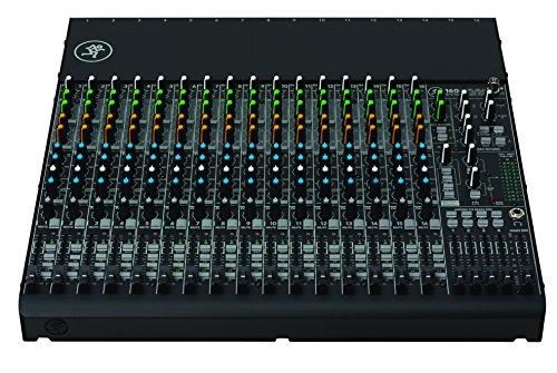 Mackie VLZ4 Series, 16-channel, 4-Bus Compact Mixer with Ultra-wide 60dB gain range and 16 Onyx Mic Preamps (1604VLZ4)