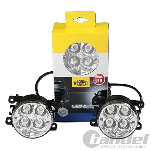MAGNETI MARELLI 713120117010 LED-Tagfahrlicht-Set - Runde U Scheinwerfer