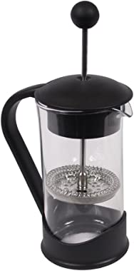 French Press Single Serving Coffee Maker by Clever Chef | Small French Press Perfect for Morning Coffee | Maximum Flavor Coff