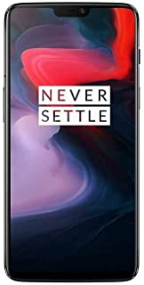 OnePlus 6 Dual Sim - 256GB, 8GB RAM, 4G LTE, MIDNIGHT Black