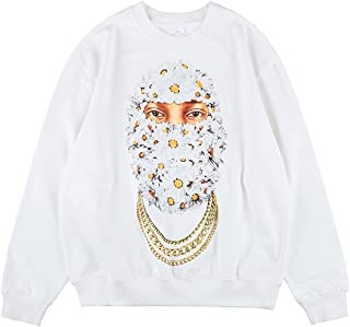 Arnodefrance Kidnapper graphic printing Sweatshirt Hip Hop Rapper Sweatshirts
