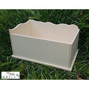ARELF Sandbad, Sandbox, Buddelbox für Hamster, Mäuse und andere Kleinnager