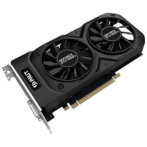 Palit NE5105TS18G1-1071D Scheda Grafica da 4 GB GDDR5, 768 Core, 1366MHz GPU, 1480MHz, Nero