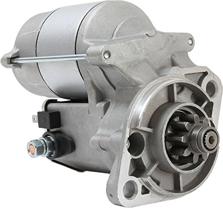 DB Electrical SND0678 New Starter for Kubota Equipment V1902 V1902B Engines 19616-63011, 19616-63012 ND9722809-105 ND128000-2131 110356 128000-2130 228000-1050 410-52349 19616-63011 19616-63012 18147