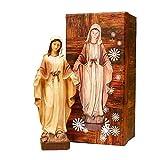 Trofeos Cadenas | Virgen Milagrosa. Figura Religiosa, en Resina, de 21 cm con Caja...