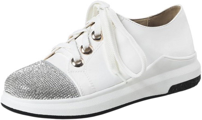FizaiZifai Women Casual Lace Up Sneakers shoes