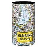 Extragoods City Puzzle - Hamburg Premium Puzzle Erwachsenenpuzzle Spiele Puzzle Städtepuzzle