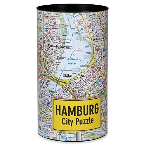 Extragoods City Puzzle - Hamburg Premium Puzzle - Erwachsenenpuzzle Spiele Puzzle Städtepuzzle