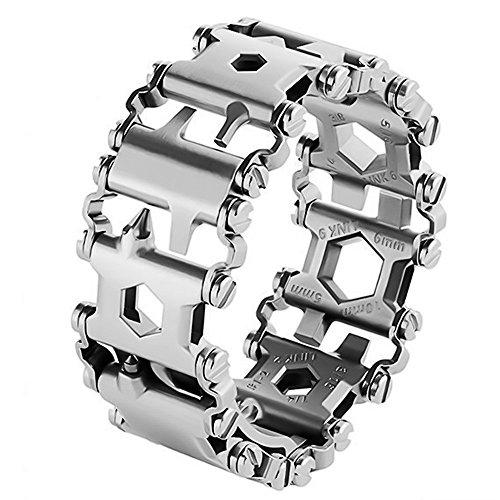 Bracelet multi-outils - Argenté