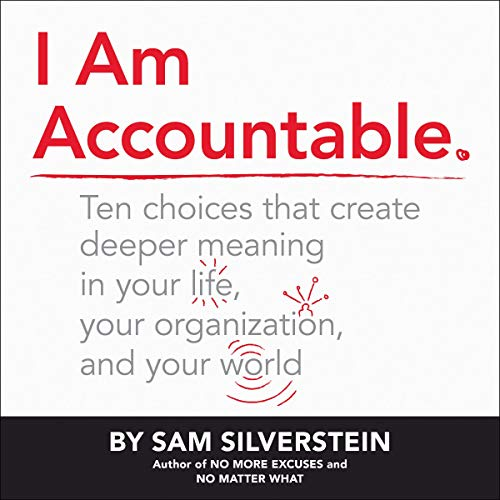 I Am Accountable audiobook cover art