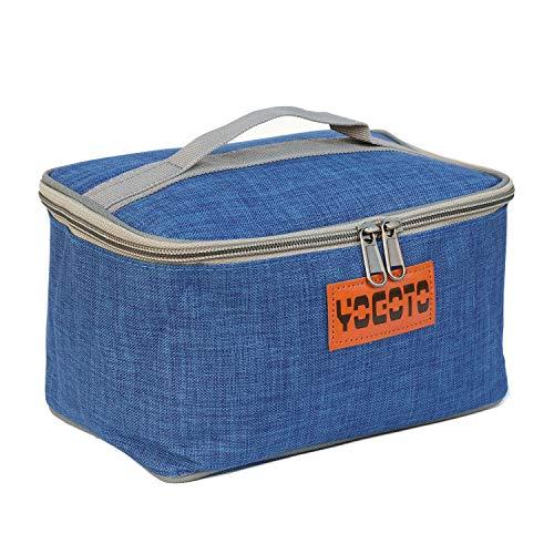 【YOGOTO】 スパイスボックス 調味料ケース ランチボックス キャンプ アウトドア BBQ (ブルー)