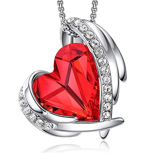 CDE Halsketten für Frauen Geschenk zum Muttertag Rosegold Kette Damen Schmuck, Besetzt mit Swarovski Steinen Schmuck mit Geschenkbox, ldeales Geschenk für Frauen Valentinstag Geburtstag