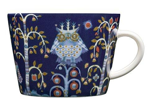 Iittala Taika Kaffeetasse, Kaffeebecher, Teetasse, Teebecher, Tasse, Becher, Vitro Porzellan, Blau, 200 ml, 1012473
