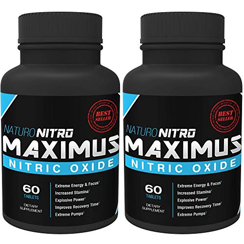 Maximus Nitric Oxide Tablets by Naturo Nitro