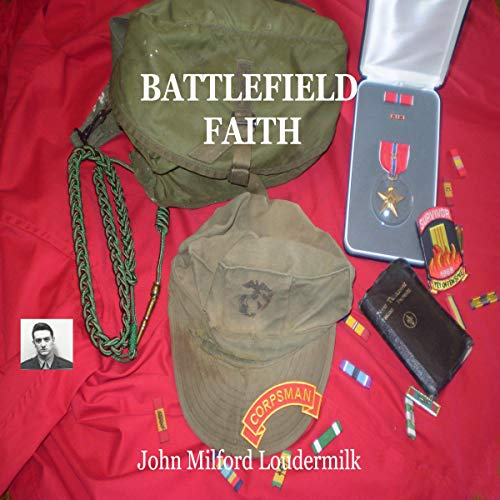Battlefield Faith audiobook cover art