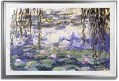 Monet Wall Art Collection Water Lilies 3 Fine Giclee Prints Wall Art in Premium Quality Framed product image