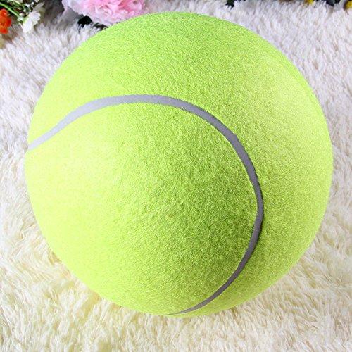 Riesentennisball Hund Kaut Spielzeug Outdoor oder im Zimmer zu Hause zum Spielen und Trainieren Das Beste Für Die Gesundheit Eines Hundes Durchmesser 24cm - 2
