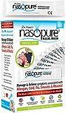 Dr. Hana's Nasopure Nasal Wash   Refill kit   The Nicer Neti Pot - Nasal Symptoms of Allergies, Cold, Flu, & Sinusitis - Fast All Natural Relief - Nasal Irrigation System/Nasal Spray/Nasal Hygiene