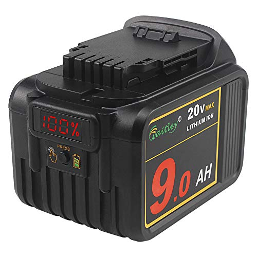 AOYAN 20V MAX 9.0Ah Lithium Ion Premium Battery for DEWALT DCB204 DCB205 DCB206 DCB205-2 DCB200 DCB180 20V DCD/DCF/DCG/DCS XR Cordless Tools,The Battery is not Created or Sold by Dewalt