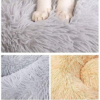 thematys Panier pour Animaux en Peluche de Haute qualité, et 8 Tailles différentes - Maison Lavable et résistante aux Rayures pour Chiens et Chats (Style 1, 80CM)