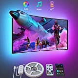 Govee TV LED Backlight, 9.8FT LED Lights for TV with App and Remote Control, Music Sync, DIY and Scene Modes, RGB Color Changing TV Backlight for 46-60 inch TVs, Computer, Bedroom, USB Powered