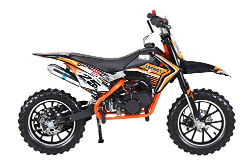 Actionbikes Gepard 49 cc Pocket Bike – Benzin (Orange) - 3
