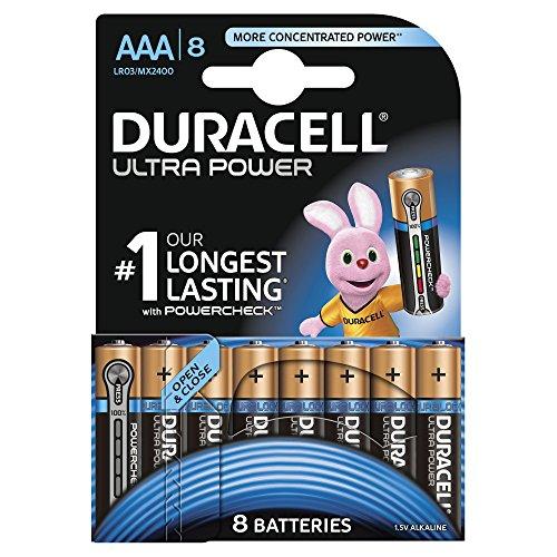 Duracell Batterie Ultra Micro AAA (LR03) 1,5V im 8er Sonderpack