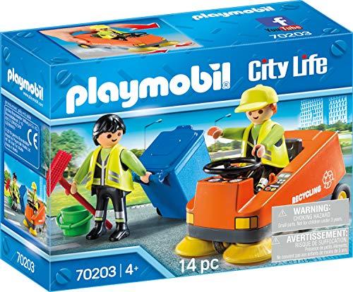 PLAYMOBIL Playmobil-70203 City Vehículo Limpieza