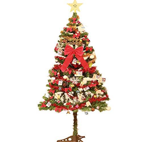 SSRSHDZW Kerstboom kerstversieringen Winter Decoratie Thuis Winkelcentrum School Vakantie Feest Decoratie Scene 150Cm 98 Accessoires