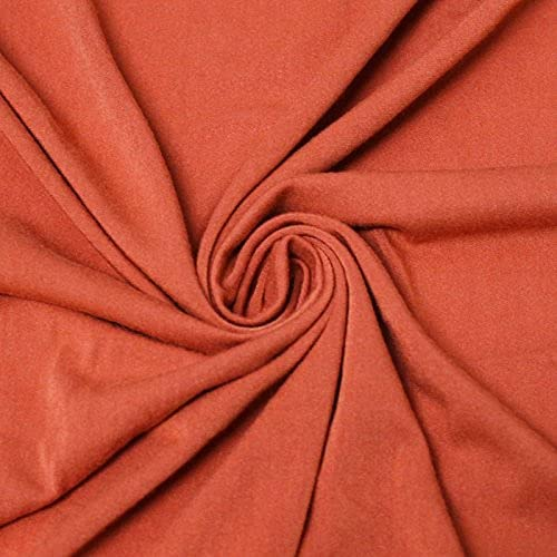 Medium Weight Rayon Stretch Kansas Our shop OFFers the best service City Mall Knit FABRIC-5YARD Jersey Spandex