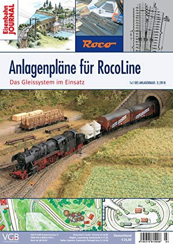 Anlagenpläne für RocoLine - Das Gleissystem im Einsatz - Eisenbahn Journal - 1 x 1 des Anlagenbaus 3-2018