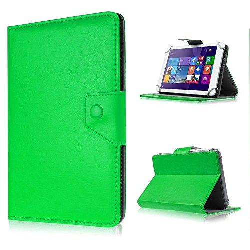 UC-Express Schutzhülle Tasche für Archos 101b Oxygen Hülle Hülle Schutz Tablet Cover Etui, Farben:Grün