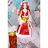 XIALEY 24'Fashion Girl Dolls, Cumpleaños 1/3 BJD Doll La Moraleja De Hacerse Rico Wishes Collector Jointed Doll Full Set Accesorios