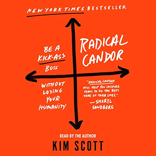 Radical Candor Audiobook By Kim Scott cover art