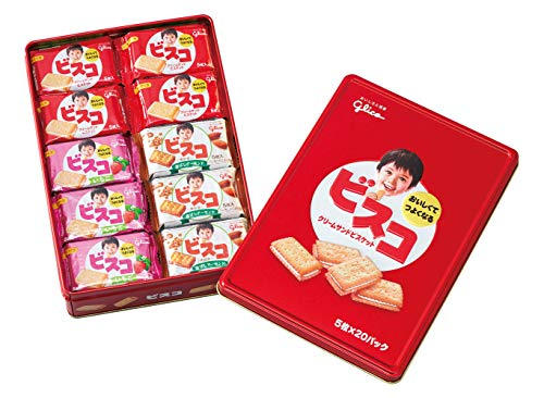 ビスコ ギフト缶 100枚入り ( 5枚×20個 )