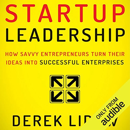 Startup Leadership cover art