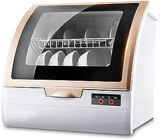 Lavavajillas Compacto Sin InstalacióN, InstalacióN PortáTil AutomáTica Sin Lavadora, Lavavajillas Compacto con Configuración de PulverizacióN De 360°, Doble Secado