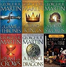 A Song of Ice and Fire & A Feast of Ice and Fire: Complete Hardback Set Volumes 1-5: The Ultimate Game of Thrones Gift Set