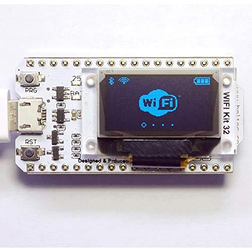 tooloflife 0.96 inch OLED Display CP2102 Development Board ESP32 Module for Arduino Nodemcu