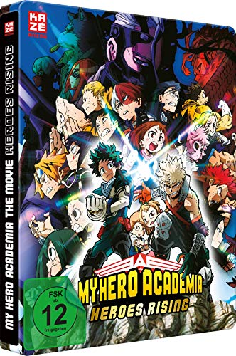 My Hero Academia: Heroes Rising - The Movie - [Blu-ray] Steelbook