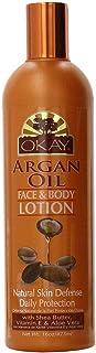 Okay Face and Body Lotion, Argan Oil, 16 Ounce