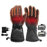 Beheizbare Handschuhe mit 3 Stufen Temperaturregler
