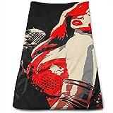 Bert-Collins Towel Sexy Pin Up Girl Toallas de Playa Toallas de Playa 80x130cm...