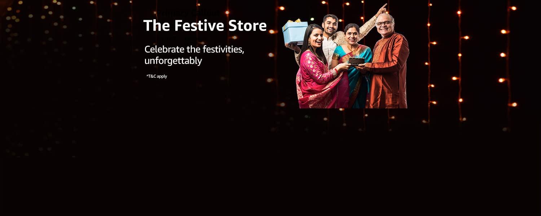 Festive Shopping Store