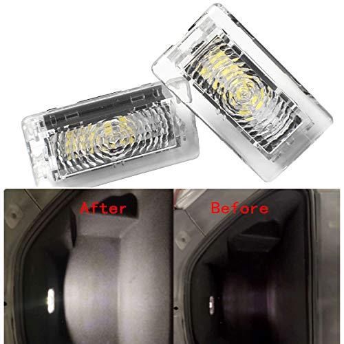 Lot de 2 ampoules LED SMD pour porte de voiture Blanc