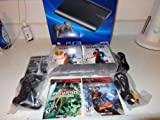 PlayStation 3 Bundle w/ 250GB Console Extra Controller Uncharted