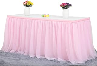 Best table skirting for birthday Reviews